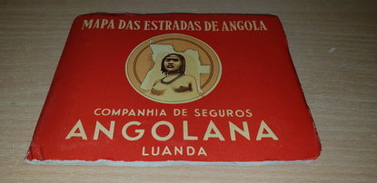 CPA DEPLIANT AVEC CARTE ANGOLA
