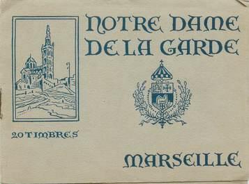 CARNET 20 TIMBRES NOTRE DAME DE LA GARDE à Marseille (France 13)