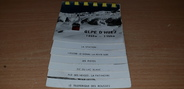 "38 Isere CPSM en LIVRET FRANCE 38 ""Alpe d'Huez"""