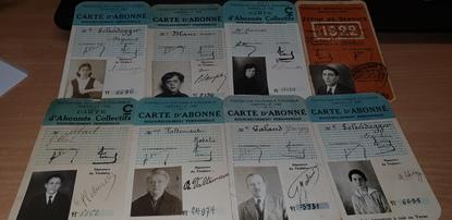 RARE LOT 22 CDV ABONNEMENT POUR L'EXPOSITION COLONIALE de 1906 A MARSEILLE (13)
