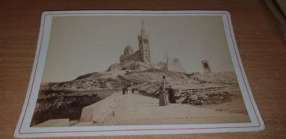 """PHOTOGRAPHIE FRANCE 13 """"Marseille, Notre Dame de la Garde"""""""