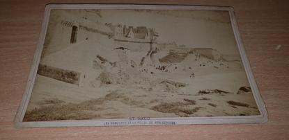 """PHOTOGRAPHIE FRANCE 35 """"Saint Malo, les remparts et la Porte de Bon Secours"""""""