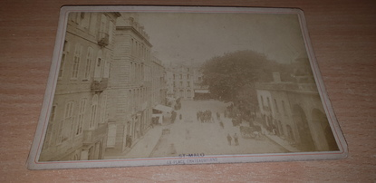 "PHOTOGRAPHIE FRANCE 35 ""Saint Malo, Place Chateaubriand"""