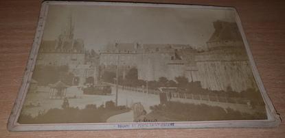 """PHOTOGRAPHIE FRANCE 35 """"Saint Malo, square et porte Saint Vincent"""""""