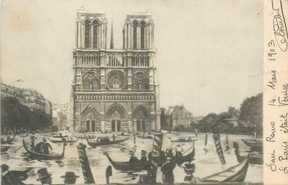 CPA SURREALISME / PARIS / VENISE