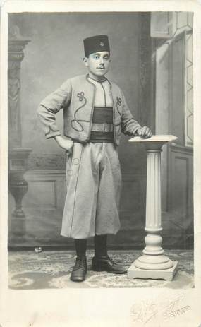 CARTE PHOTO ZOUAVE / SETIF