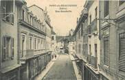 "38 Isere CPA FRANCE 38 ""Pont de Beauvoisin, rue Gambetta"""