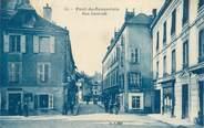 "38 Isere CPA FRANCE 38 ""Pont de Beauvoisin, rue Centrale"""