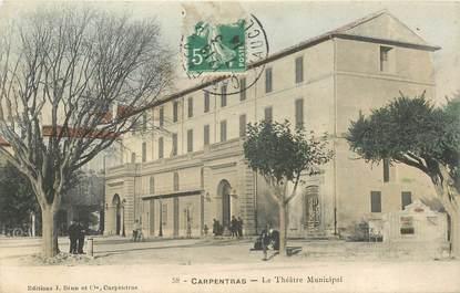 """CPA FRANCE 84 """"Carpentras, le Théâtre municipal"""""""