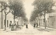 "84 Vaucluse CPA FRANCE 84 ""Carpentras, avenue Victor Hugo, rte de Marseille"""