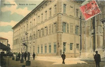 "CPA FRANCE 84 ""Carpentras, Palais de Justice"""
