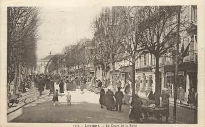 """/ CPA FRANCE 56 """"Lorient, le cours de la Bove"""""""