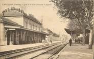 """84 Vaucluse CPA FRANCE 84 """"Cavaillon, la gare"""""""