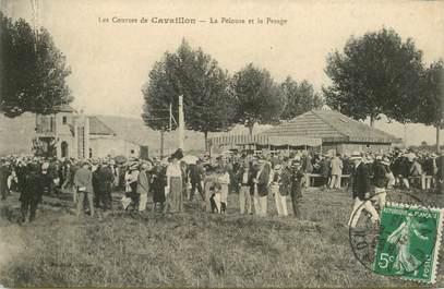 """CPA FRANCE 84 """"Cavaillon, le champ de courses"""""""