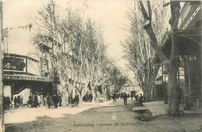 """CPA FRANCE 84 """"Cavaillon, Cours de la Charité"""""""