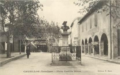 """CPA FRANCE 84 """"Cavaillon, Place Castille Blaze"""""""