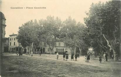 """CPA FRANCE 84 """"Cavaillon, Place Gambetta"""""""