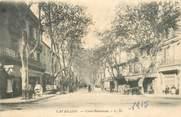 "84 Vaucluse CPA FRANCE 84 ""Cavaillon, Cours Bournissac"""