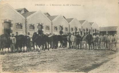 "CPA FRANCE 84 ""Orange, 55e d'Artillerie"""