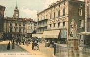 """84 Vaucluse CPA FRANCE 84 """"Orange, Place de l'Hotel de ville"""""""