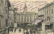 """84 Vaucluse CPA FRANCE 84 """"Orange, place du Pont neuf, Place de l'Hotel de ville"""""""
