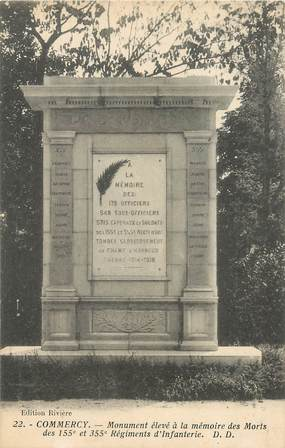 "CPA FRANCE 55 ""Commercy"" MONUMENT"