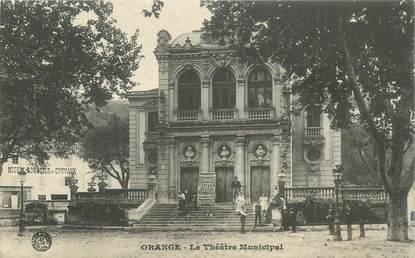 """CPA FRANCE 84 """"Orange, le Théâtre municipal"""""""