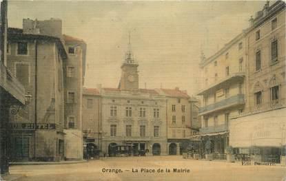 """CPA FRANCE 84 """"Orange, Place de la Mairie"""""""