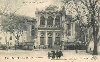 "CPA FRANCE 84 ""Orange, le Théâtre moderne"""