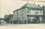 """55 Meuse / CPA FRANCE 55 """"Revigny, rue de la tresse et place de la gare"""""""