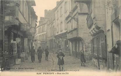 "CPA FRANCE 56 ""Pontivy, Rue du Fil"""