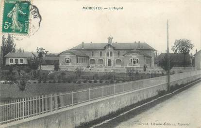 "CPA FRANCE 38 ""Morestel, l'Hopital"""