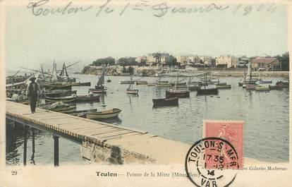 """CPA FRANCE 83 """"Toulon, Pointe de la Mitre"""""""
