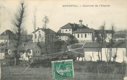 """CPA FRANCE 38 """"Morestel, Quartier de l'Hopital"""""""