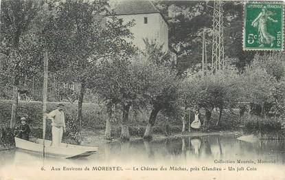 """CPA FRANCE 38 """"Morestel, Chateau des Mâches"""""""