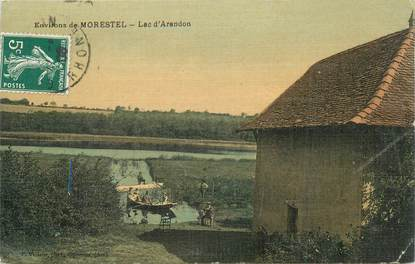 "CPA FRANCE 38 ""Morestel, Lac d'Arandon"""