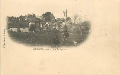 """CPA FRANCE 38 """"Morestel, vue de la Route du Bouchage"""""""