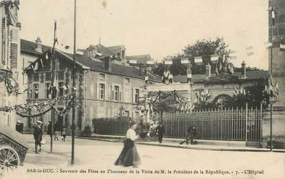 """/ CPA FRANCE 55 """"Bar le Duc, l'hôpital"""""""