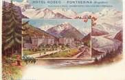 """Suisse CPA SUISSE """"Pontresina, Hotel Roseg"""""""