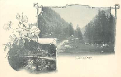 """CPA SUISSE """"Pont de Nant"""""""