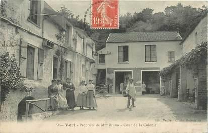 """CPA FRANCE 78 """"Vert, Propriété de Mme Bruno"""""""