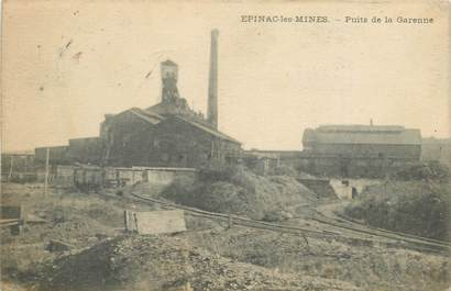 """CPA FRANCE 71 """"Epinac les Mines"""""""