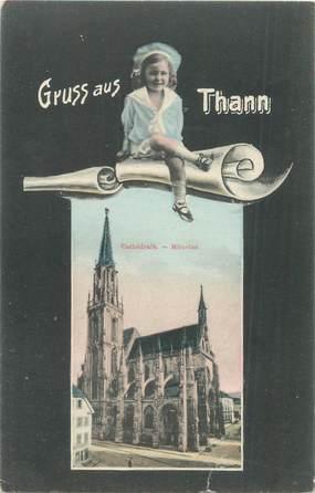 """CPA FRANCE 68 """"Thann"""""""