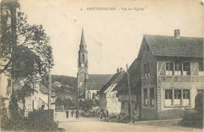 "CPA FRANCE 68 ""Pfetterhouse"""