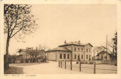 """CPA FRANCE 67 """"Seltz, la gare"""""""