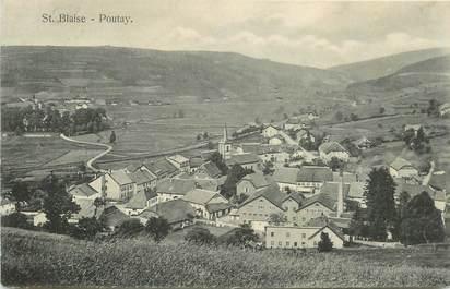 """CPA FRANCE 67 """"St Blaise Poutay"""""""