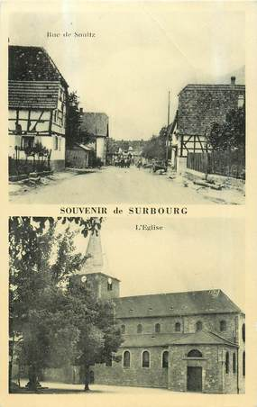 """CPA FRANCE 67 """"Surbourg"""""""