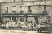 """61 Orne CPA FRANCE 61 """"Domfront, Hotel de la gare"""""""