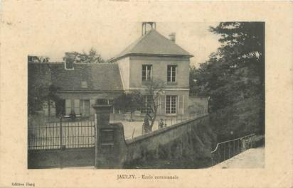 """CPA FRANCE 60 """"Jaulzy, Ecole"""""""