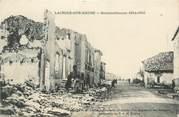 """55 Meuse CPA FRANCE 55 """"Lacroix sur Meuse, bombardements"""""""